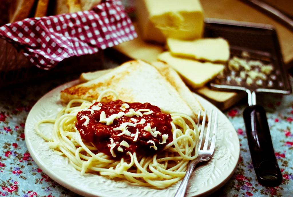 pancake house spaghetti