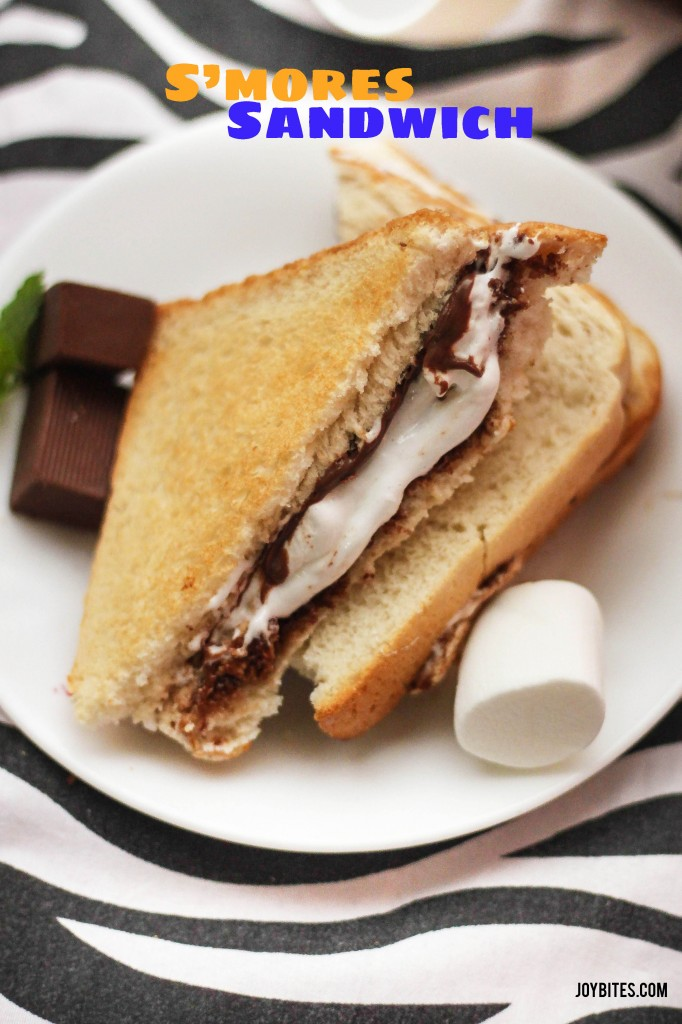 s'mores sandwich recipe