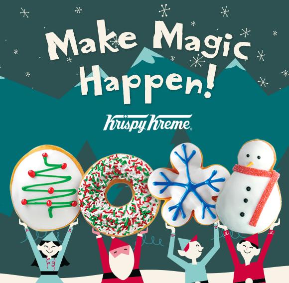 krispy kreme make magic happen