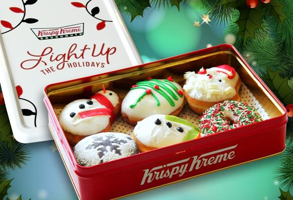I Love Krispy Kreme Holiday Creations Donuts - JoyBites | JoyBites