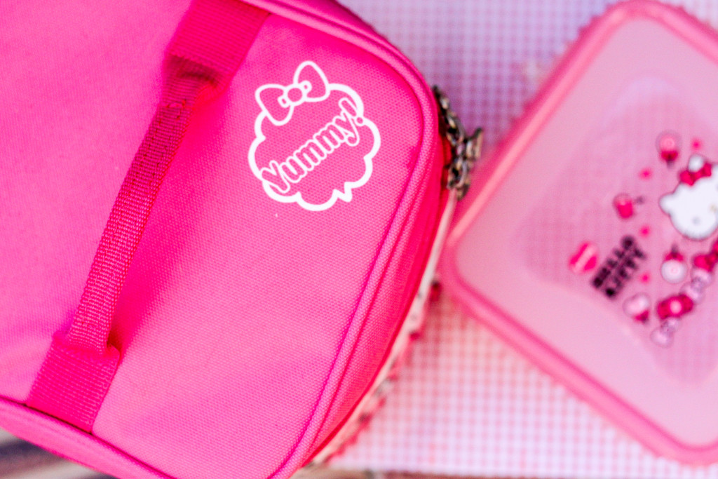 lock and lock hello kitty lunch set