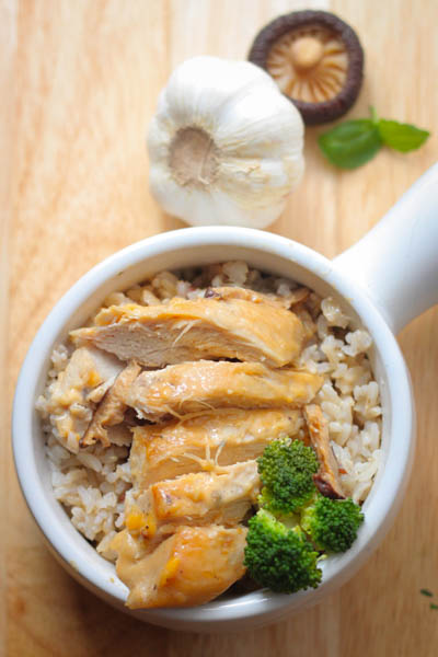 rice cooker chicken