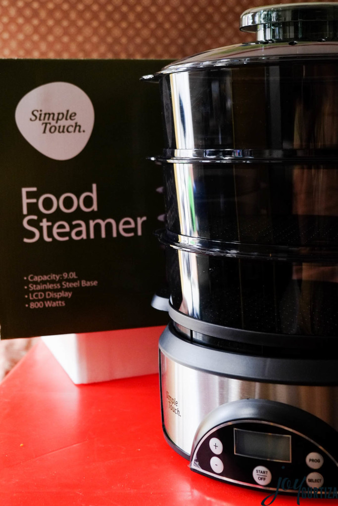 simple touch food steamer