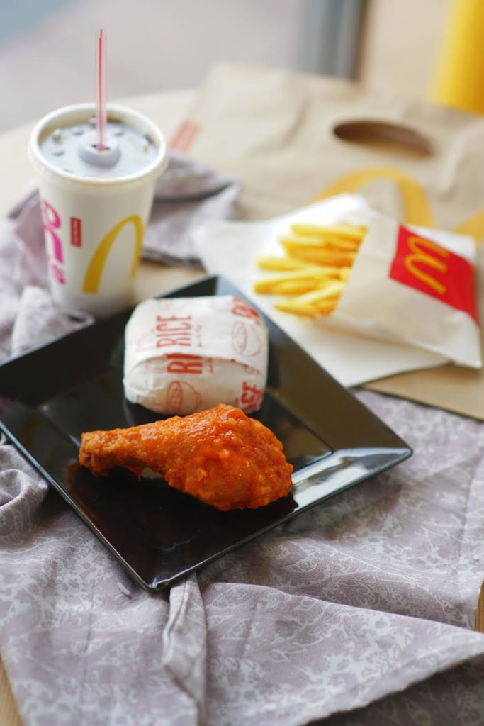 Spicy Buffalo-Style Chicken McDo
